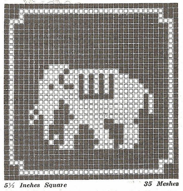 Many free Filet crochet patterns