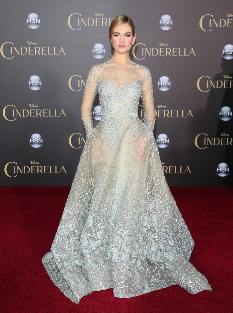 10 Princess Dresses Lily James Should Wear During her Cinderella ...