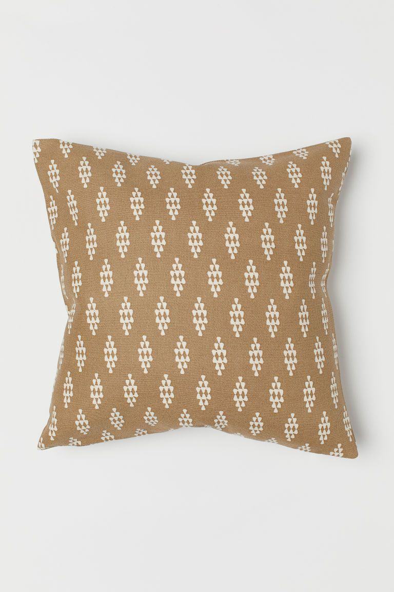 Canvas Cushion Cover Throw Pillows Cushions Gold Pillows