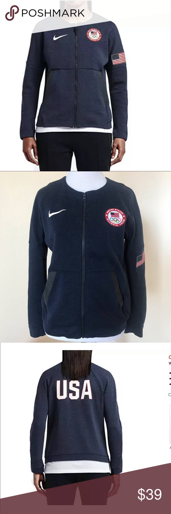NWT Nike Tech Fleece USA Jacket EXCELLENT USED CONDITION