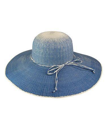195faeff639 Love this Blue Ombré Sun Hat on  zulily!  zulilyfinds