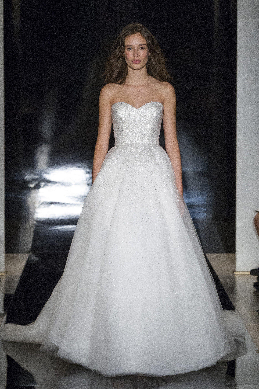 Marisa wedding dress  Reem Acra Bridal Spring  Fashion Show  Reem acra bridal