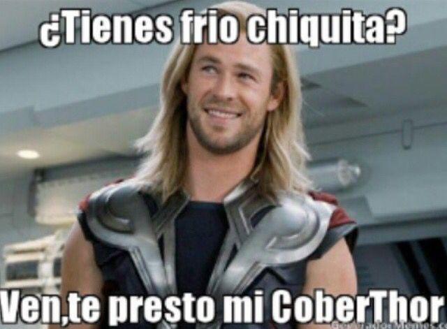 Cober Thor Memes De Frio Chistes De Frio Imagenes De Risa Memes