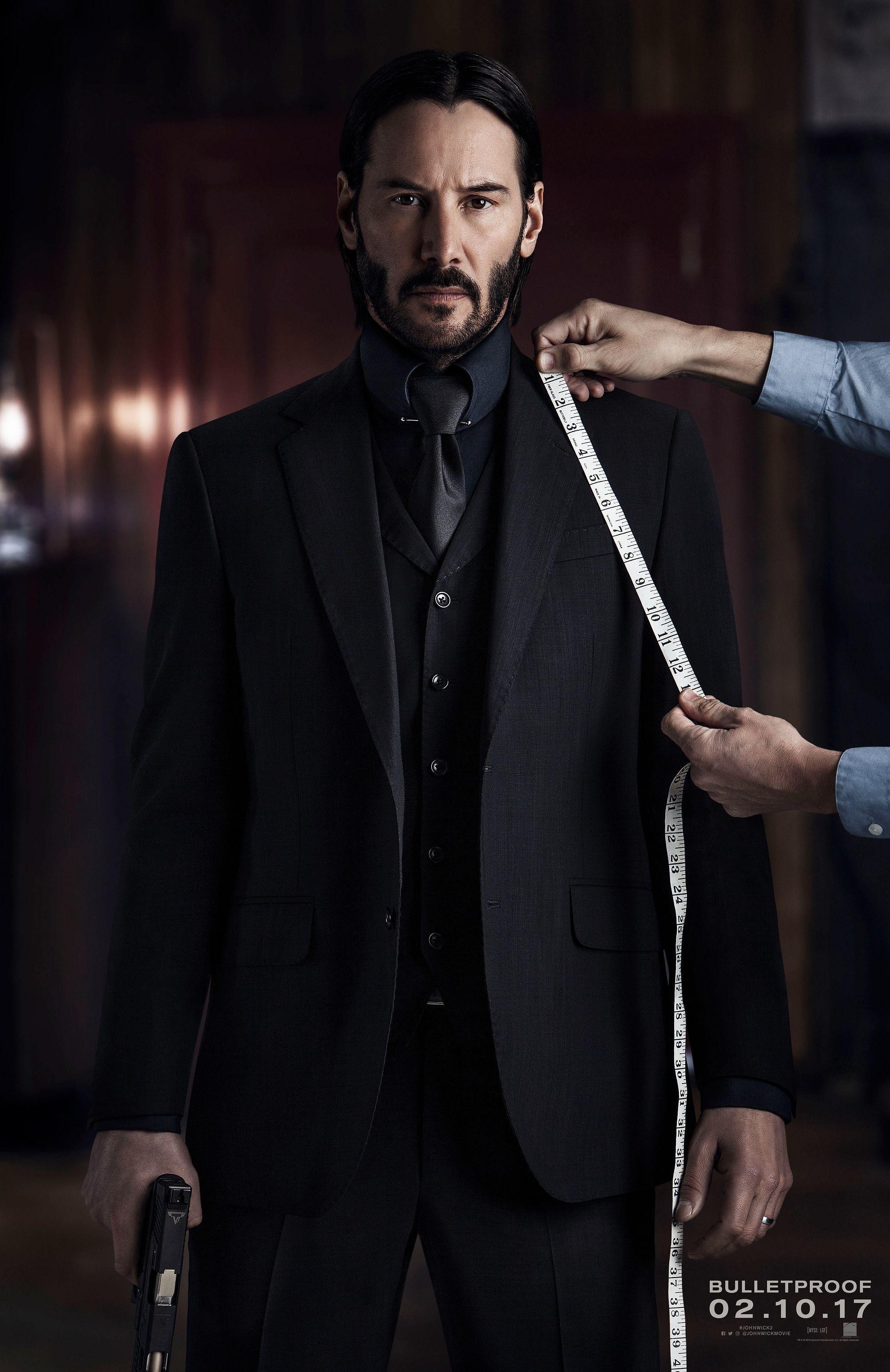 John Wick 2 Poster Sees Keanu Reeves Hitman Dressed To Kill