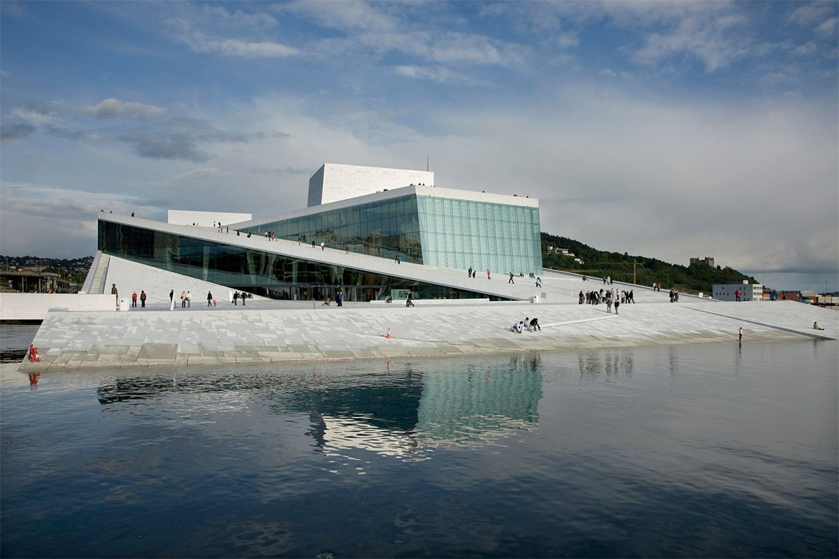 Zeidler Partnership Architects Snohetta To Design Ryerson University Student Learning Center Oslo Opera House Oslo Scandinavian Architecture