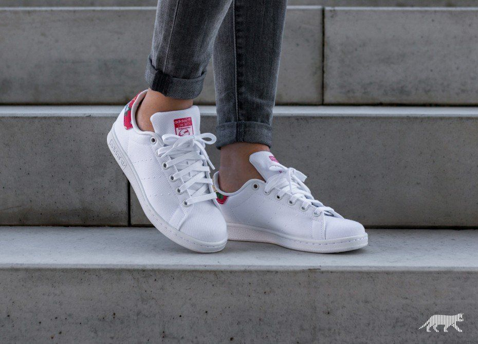 timeless design 58784 4ed9a adidas Stan Smith W (Ftwr White / Ftwr White / Power Red ...