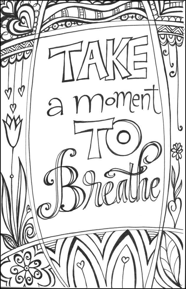 Inhaleee Exhaleee Art By Maxine Martin Erickson Repeatable