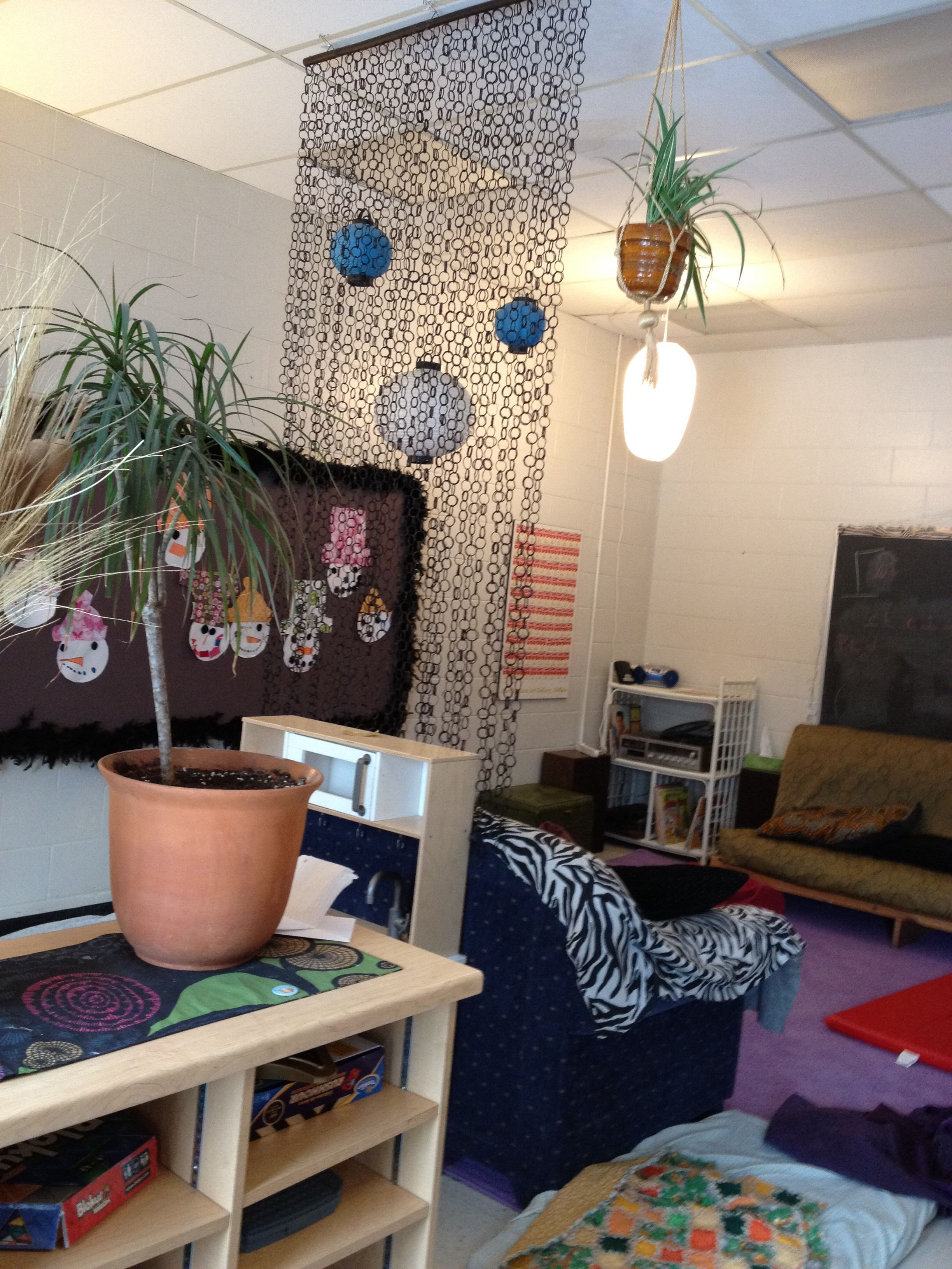 Photo of Schools age child care class room set up