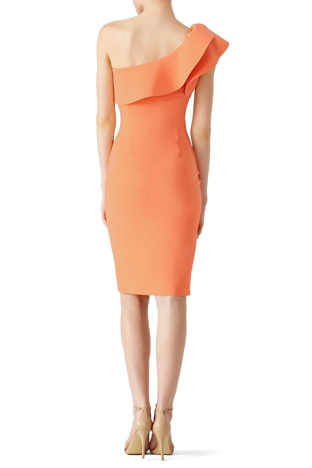 Orange Elisse Dress by La Petite Robe di Chiara Boni for $120 | Rent the Runway