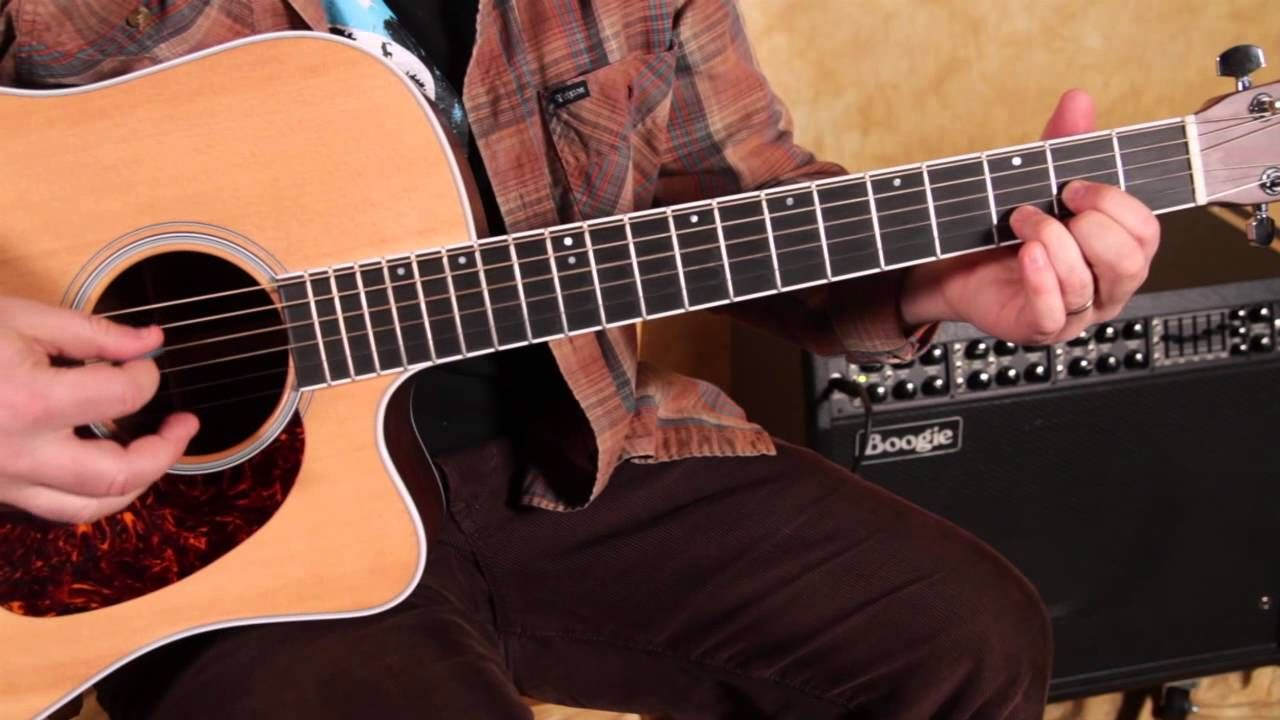 How To Play Arms Of A Woman By Amos Lee Easy Songs On Acoustic