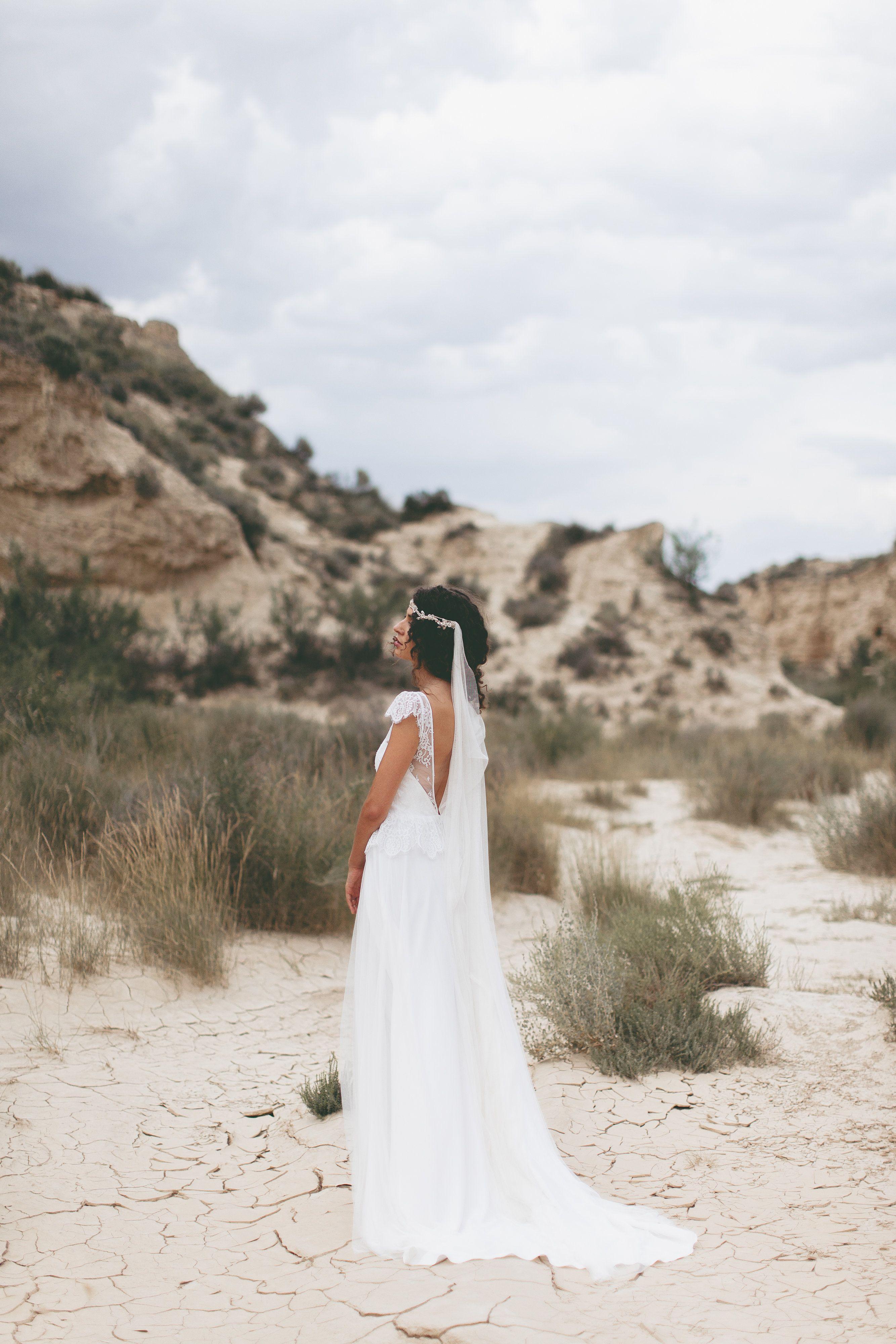 Brautkleid aus Spitze / Boho Hochzeitskleid / Vintage Hochzeit ...