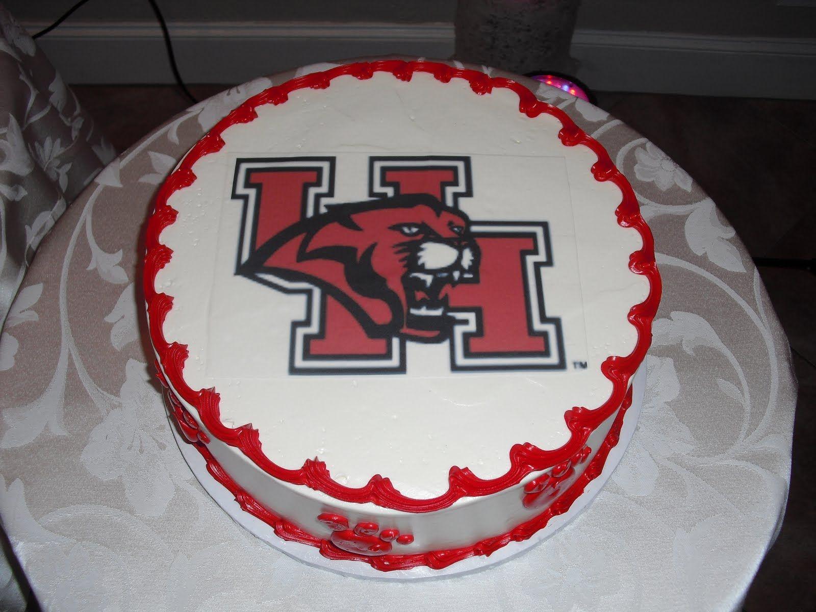 University Of Houston Cake
