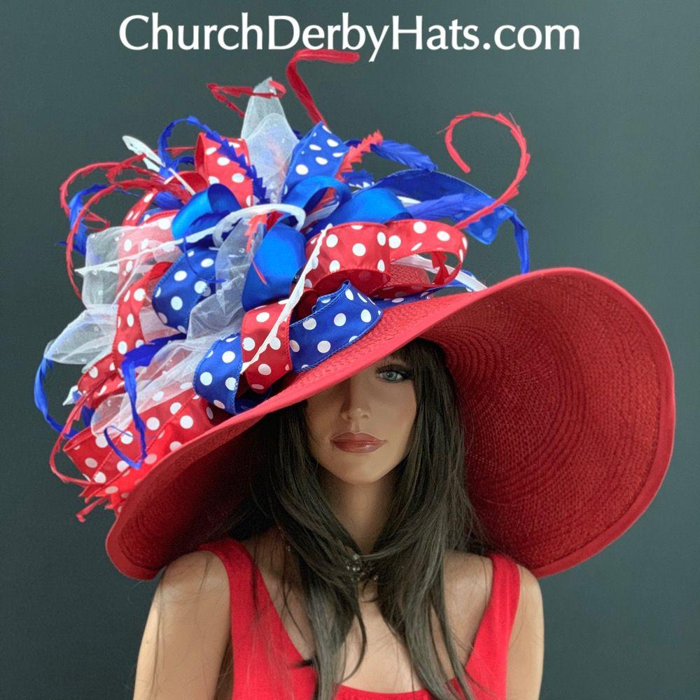 Fun Kentucky Derby Hat: Gorgeous And Fun Derby Hat By Vinzetta® ChurchDerbyHats