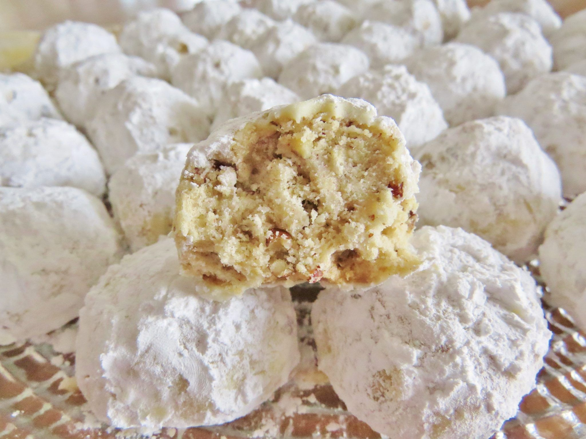 Spoonful of sugah almond polvorones aka russian tea cakes mexican - Southern Pecan Butterballs Danish Wedding Cookiesmexican Wedding Cookiesrussian Tea