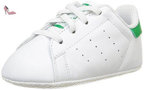 adidas Stan Smith Crib, Chaussures Bébé marche bébé garçon, Blanc