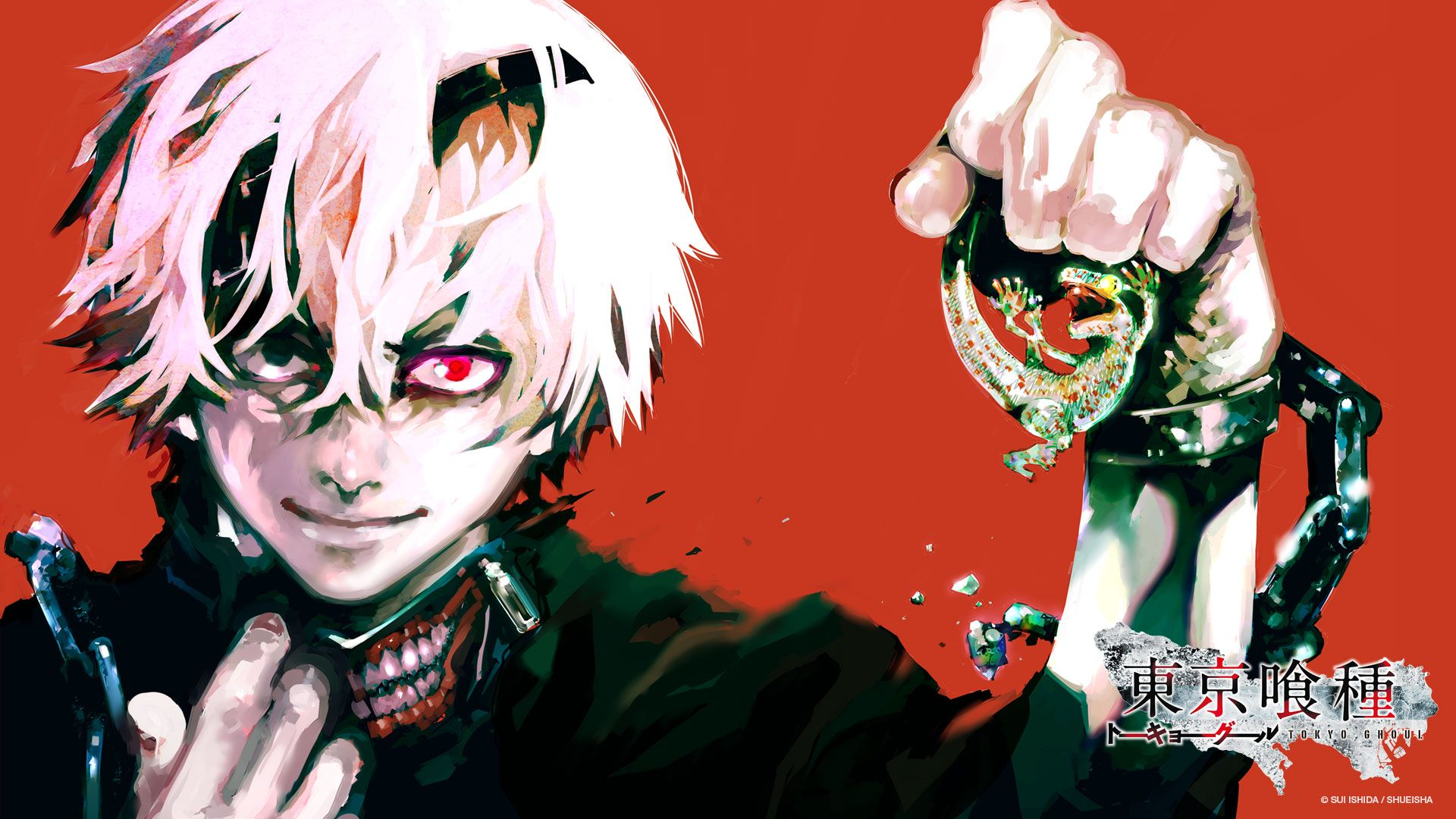 Download Tokyo Ghoul cover wallpaper (1920x1080