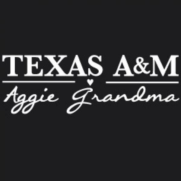 TEXAS A&M AGGIE GRANDMA CAR DECAL