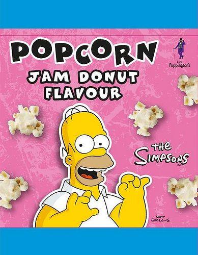 The Simpsons Jam Donut Popcorn by Savoury & Sweet