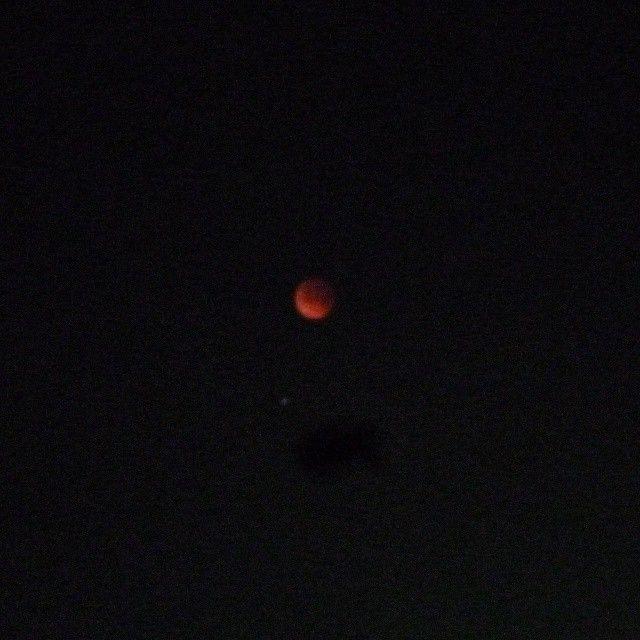 Red Moon #EclipseLunar