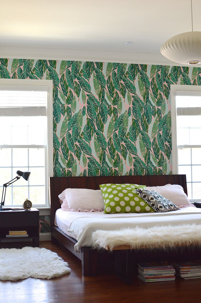 Pin by Eleah Galler on Sweet dreams Accent wall bedroom