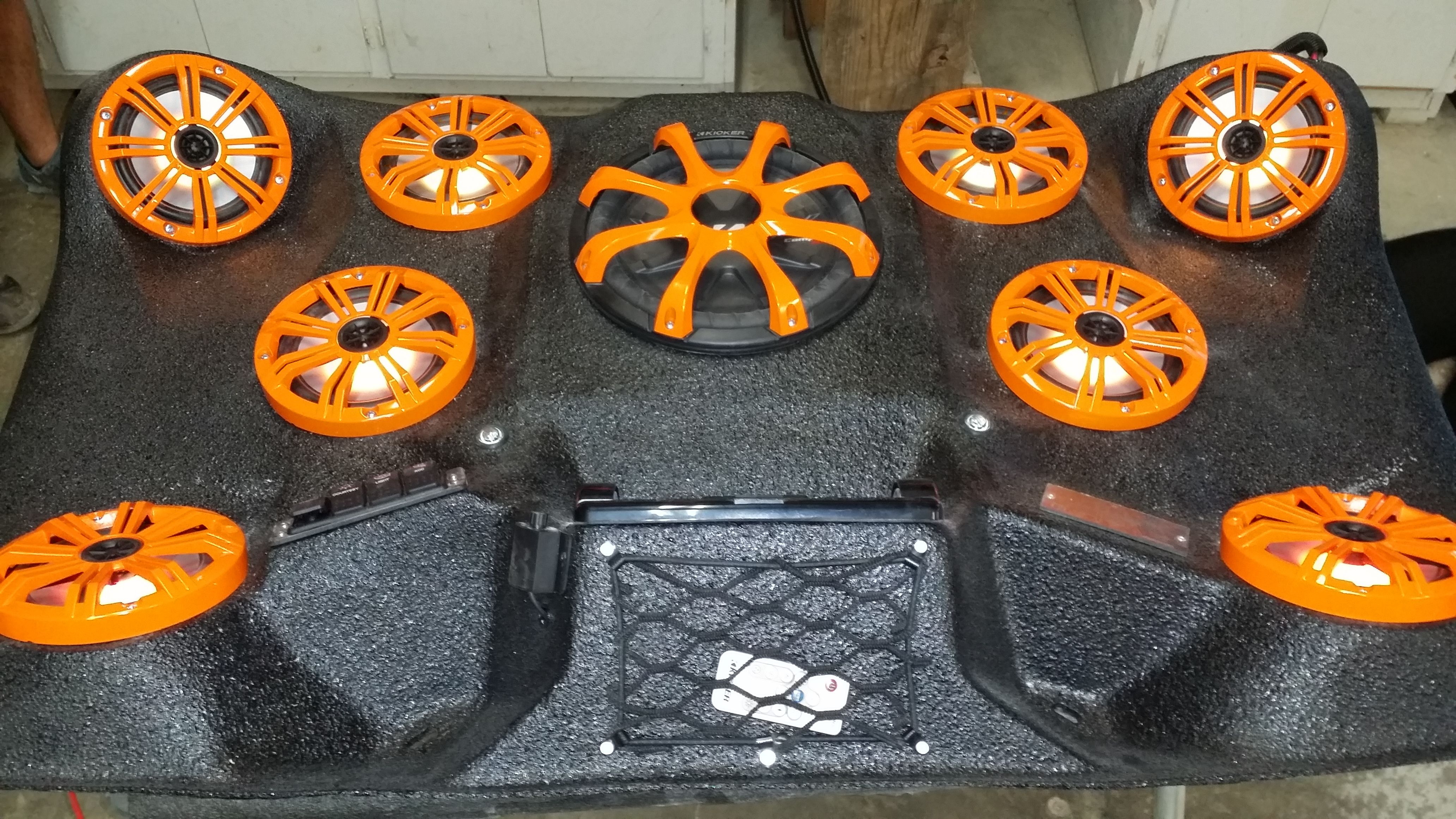 Mayhem Manufacturing Polaris 900 Audio Roof 8 6 5 Kicker Marine And 1 10 Kicker Subwoofer Find Us On Facebook And Kicker Subwoofer Fish Finders Polaris 900