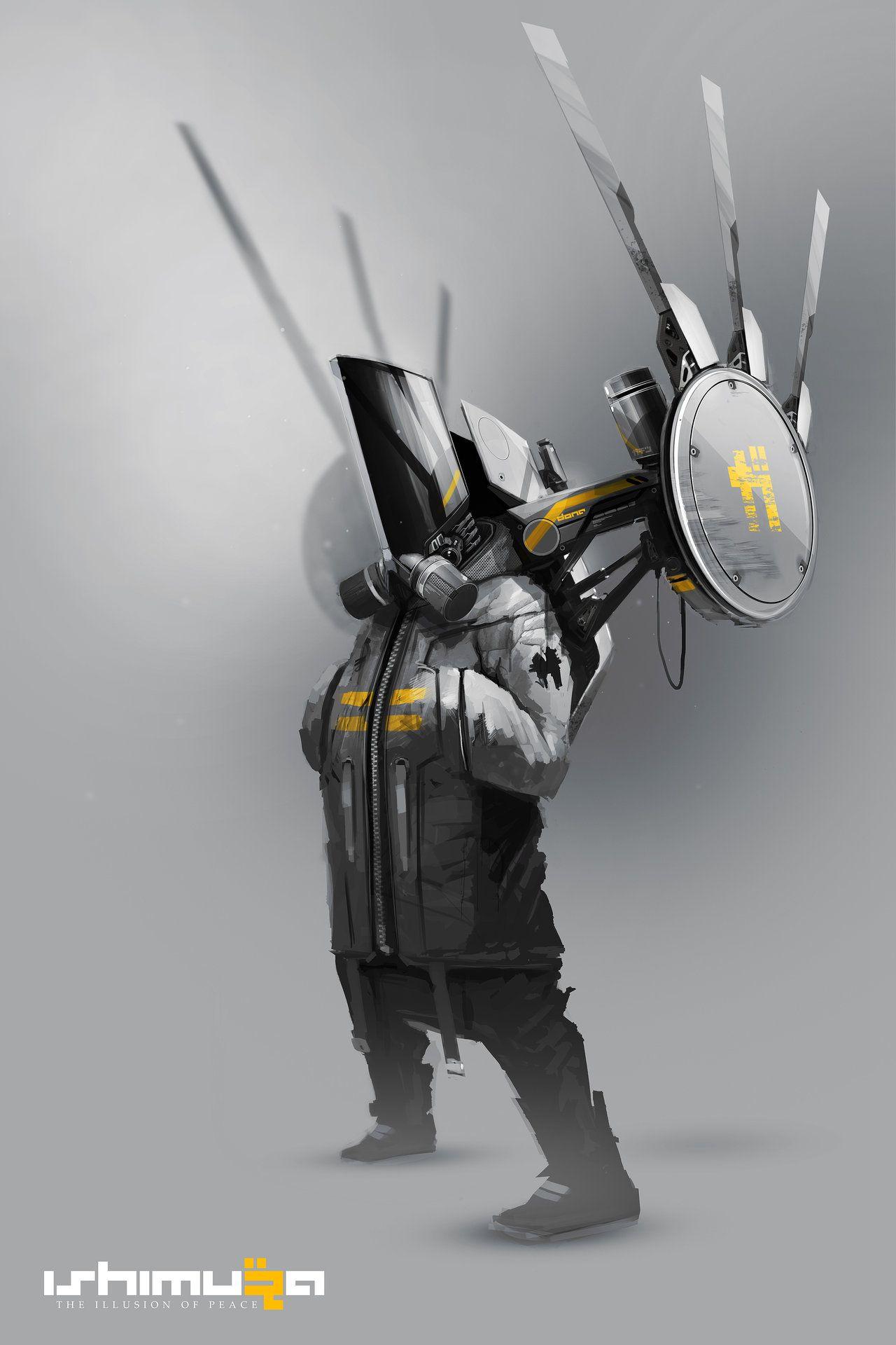 ArtStation - ISHIMURA, DAYTONER / Daniel Hahn