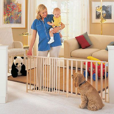 7 Foot Wide Baby Gate Extra Large 5 6
