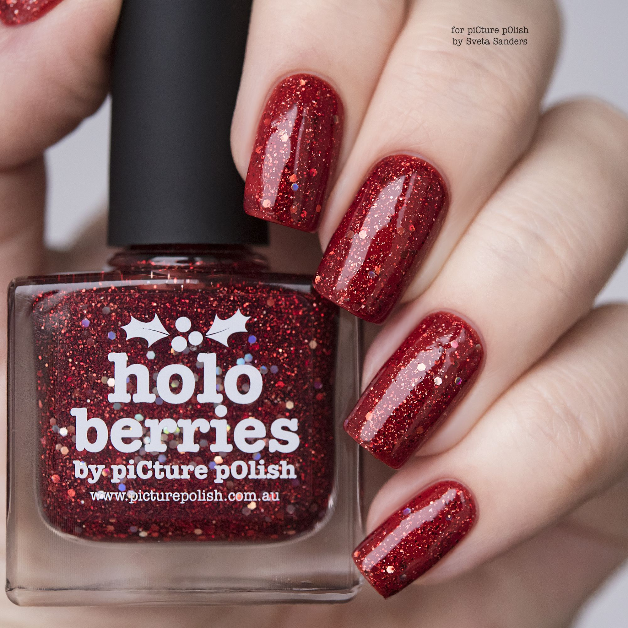 Meet NEW \'holo berries\' special edition | Nail polish swatch ...
