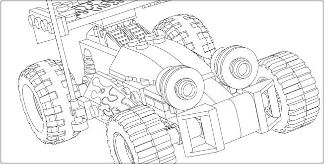 LEGO Toy Story  Downloads - Coloring Pages - Coloring Pages - copy coloring pages lego minifigures