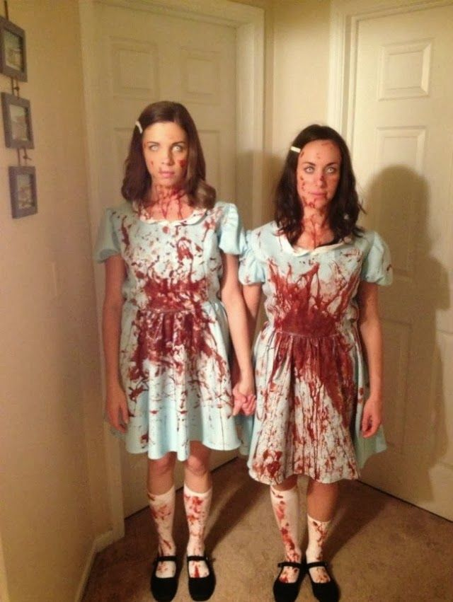 30 unconventional two person halloween costumes - The Shining Halloween