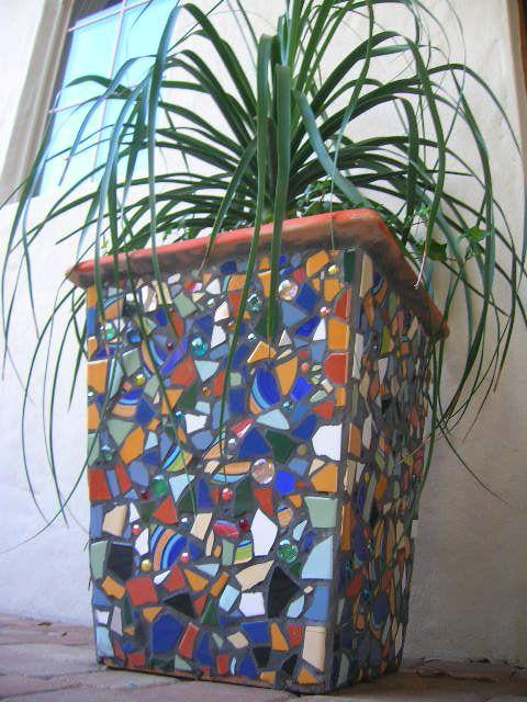 Mosaic Pots For Sale Www Totallylegalpot Com Mosaic Garden Art Mosaic Pots Mosaic Flower Pots
