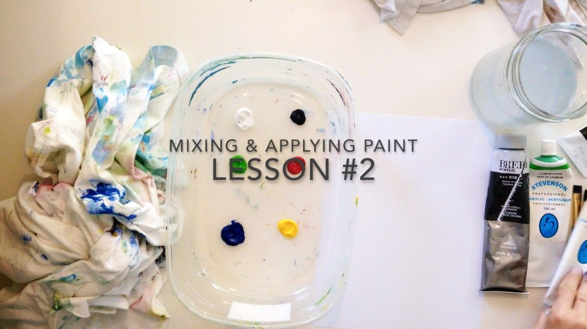 New Video Post on Teachers Pay Teachers:  LESSON VIDEO #2: Mixing & Applying Paint  https://www.teacherspayteachers.com/Product/LESSON-VIDEO-2-Mixing-Applying-Paint-2866364  If you are a new art teacher or absolute art beginner, here's what you need to know to start painting-  Mixing & Applying Paint LESSON #2 takes you through the basics of mixing techniques, with a brief discussion of colour ratios and managing paint thickness.  This 4.02 minute video can be used on its own or as support…