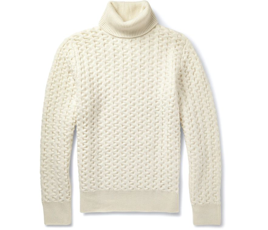 pull col roulé homme timberland