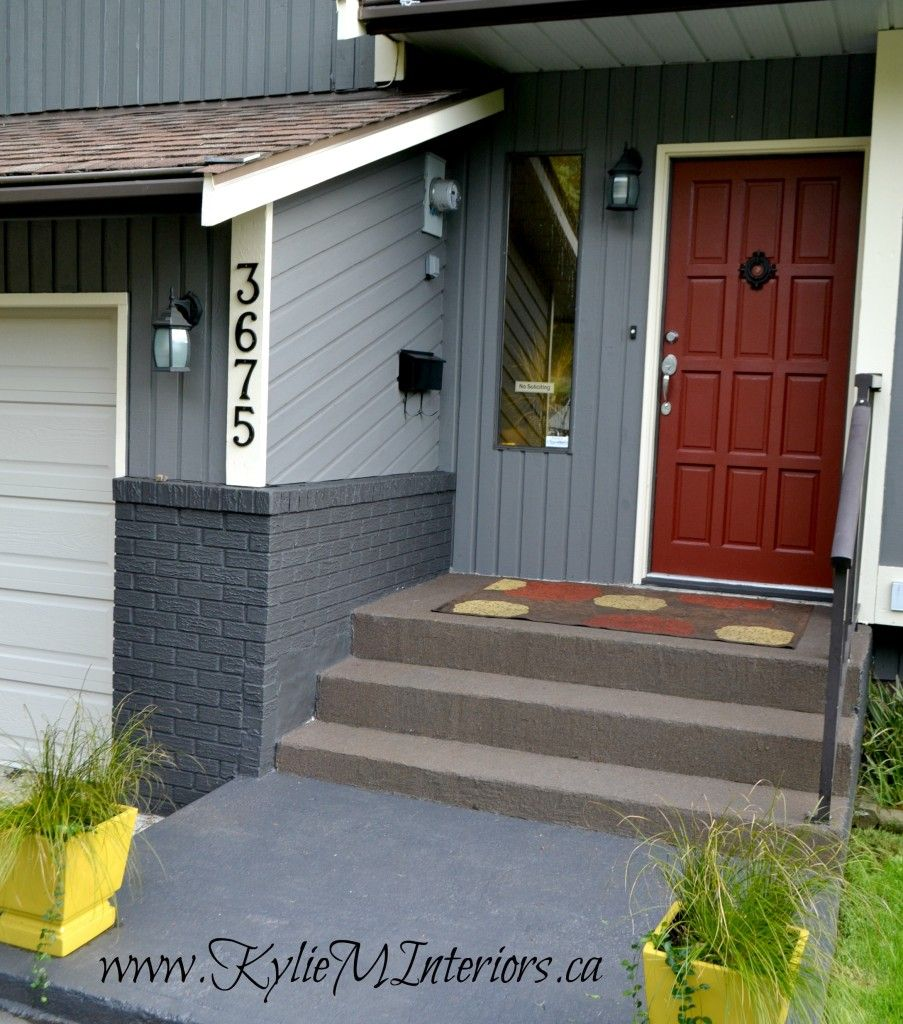 The 9 best benjamin moore paint colors grays including - Pictures of painted exterior brick ...