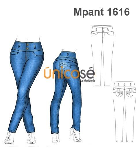 Moldes Unicose Tutorial De Pantalones Patron De Pantalones Moldes De Pantalones