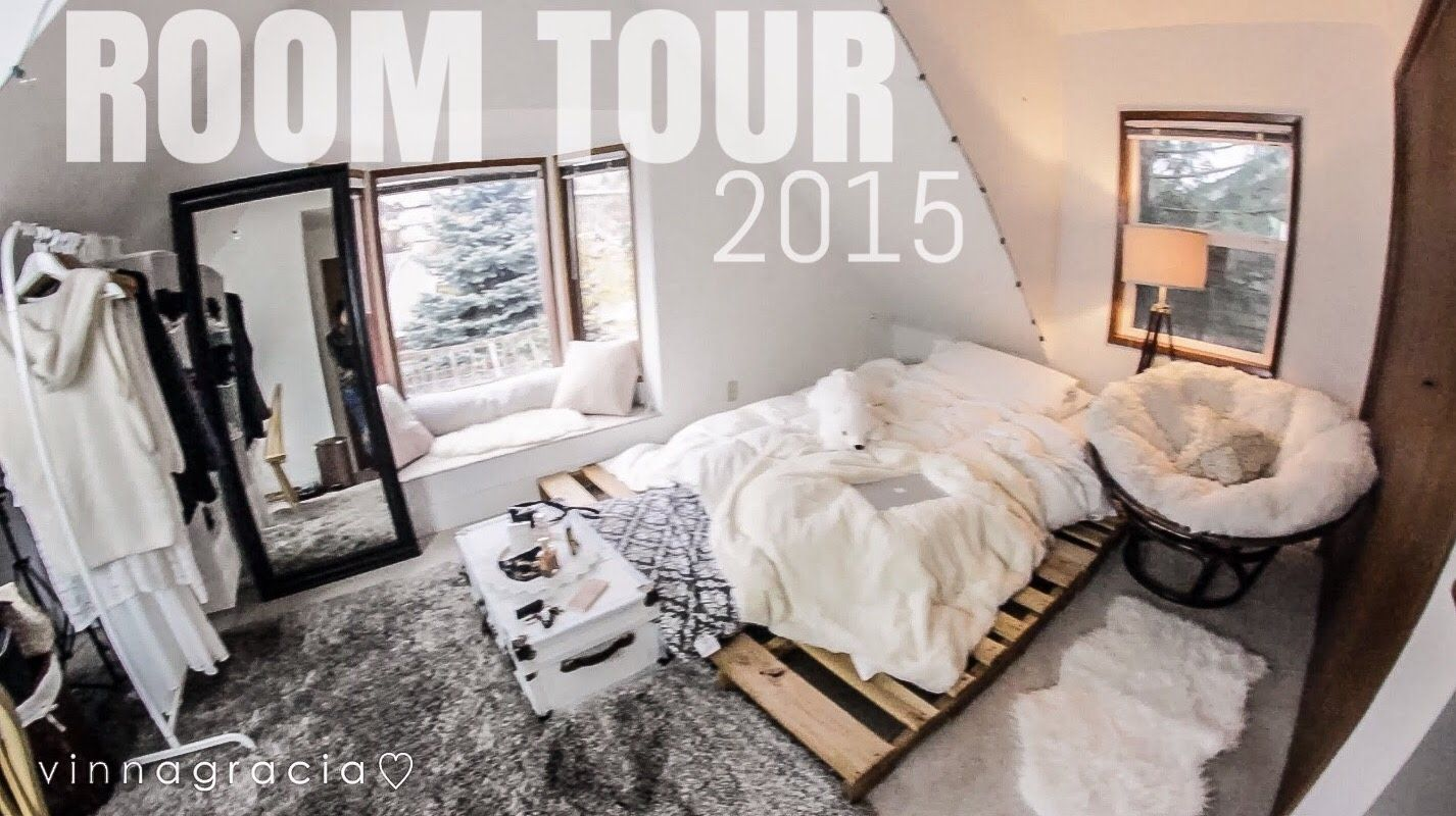 MY ROOM TOUR 2015 (affordable! IKEA, ROSS, AMAZON!) // Part 45