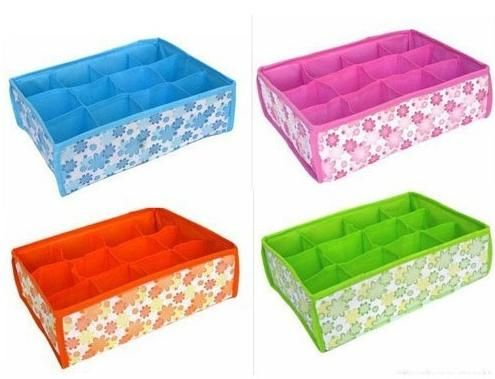 Where To Buy Decorative Boxes Visit To Buy 2015 Hot Sales Folding 12 Grid Storage Box For Bra