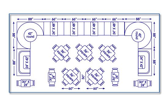 Seatingexpert restaurant seating chart design
