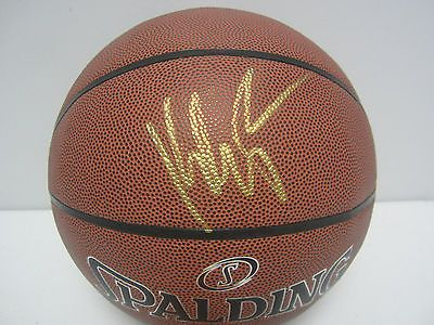 a57fc6c39c1f7 Klay Thompson Golden State Warriors Signed Autographed Basketball ...