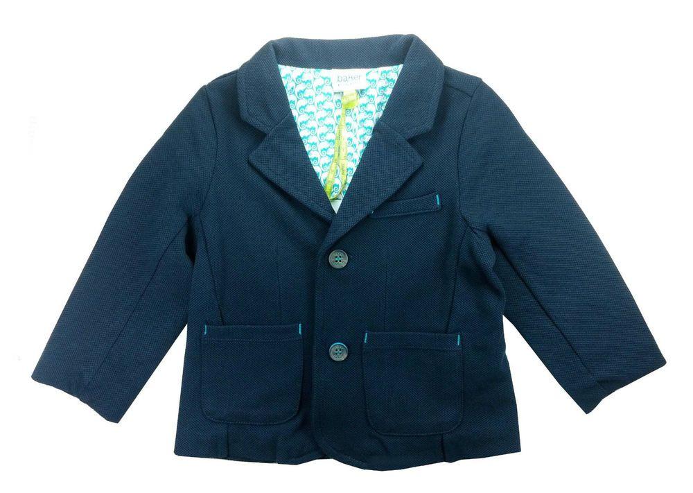 e5520c7c7449f Ted Baker Baby Boys Blazer Jacket Designer Blue 9-12 Months