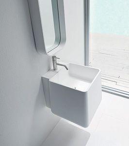 Lavabo bagno sospeso design squadrato interior design e - Bagno e dintorni ...