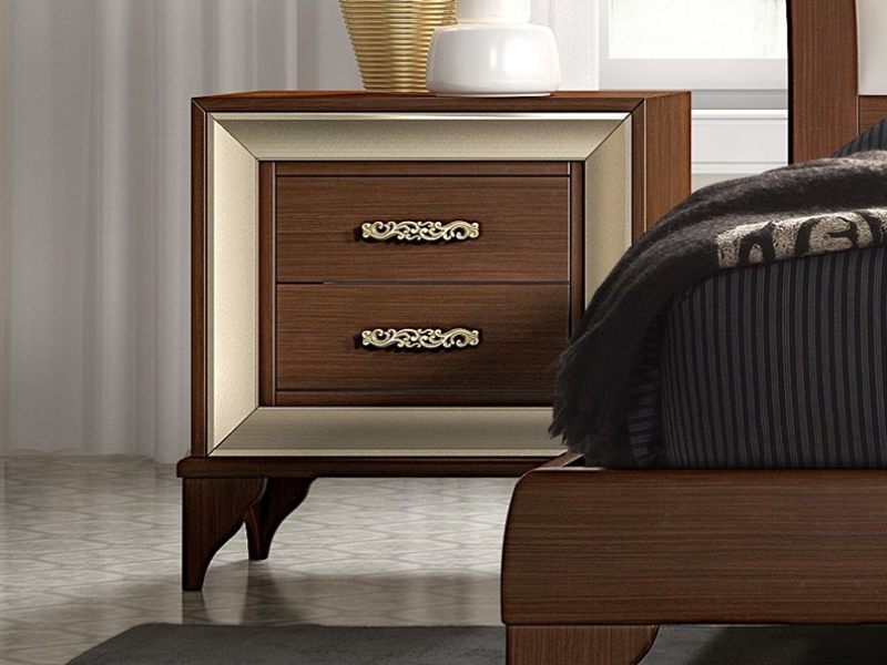 2 Chevets Avec 2 Tiroirs Mod Ga1302ngl Design De Chambre De Luxe Meuble Chambre A Coucher Mobilier De Salon