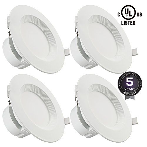 4 pack 6 led recessed downlight with junction box 9w 80w 4 pack 6 led recessed downlight with junction box 9w 80w equivalent mozeypictures Image collections