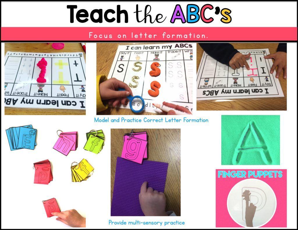 Alphabet Instruction Sound To Symbol Awareness Make It