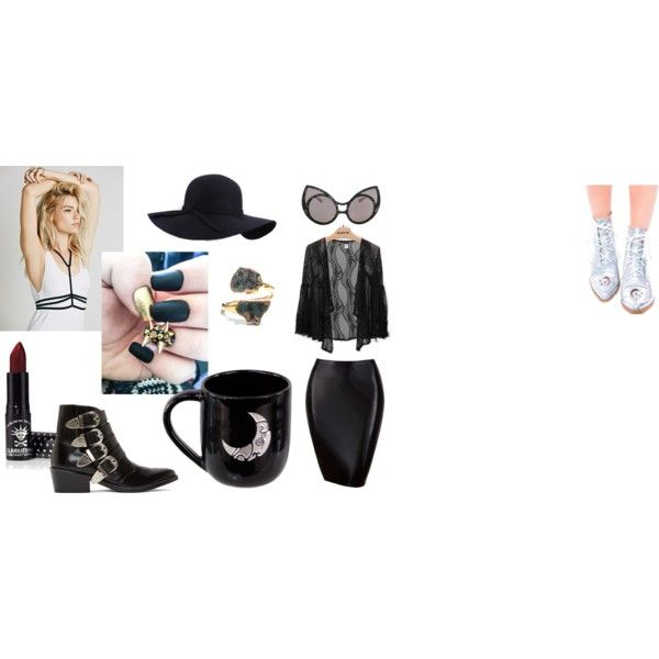 Sexy witch by rubyxredxheart on Polyvore featuring Free People, Toga and Y.R.U.