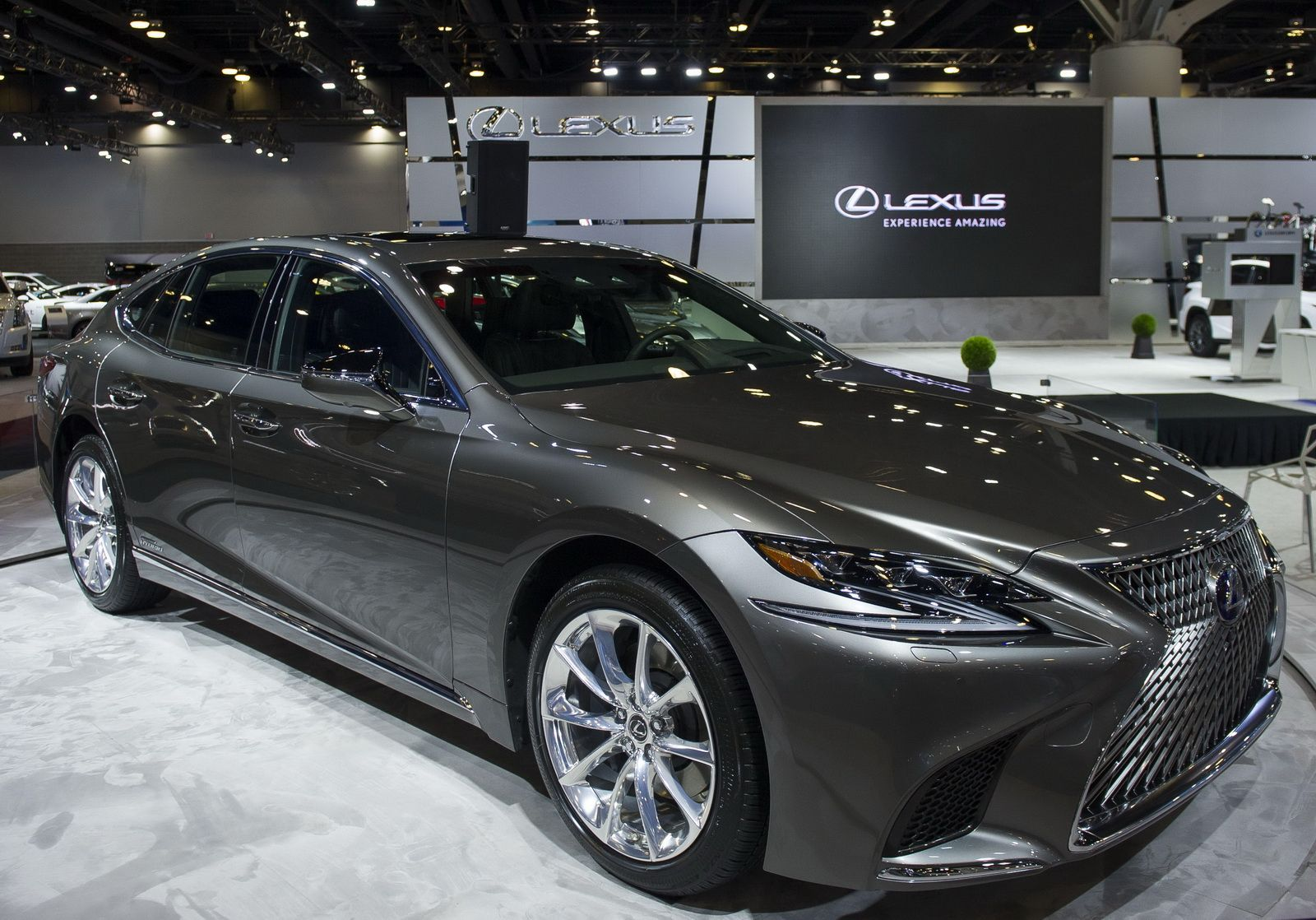 2018 lexus ls 500h redesign release date in the 2017 geneva engine display lexus offered the next of its two brand name new ls flagship sedans