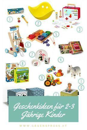 Geschenkideen Fur 2 3 Jahrige Kinder Gewinnspiel Hoxbox