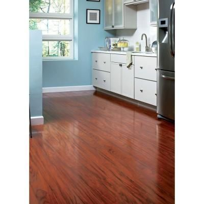 Home Legend High Gloss Santos Mahogany 10 Mm Thick X 5 In Wide X 47