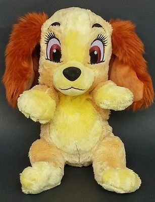 Disney Babies Lady And The Tramp Baby Lady Stuffed Animal Plush