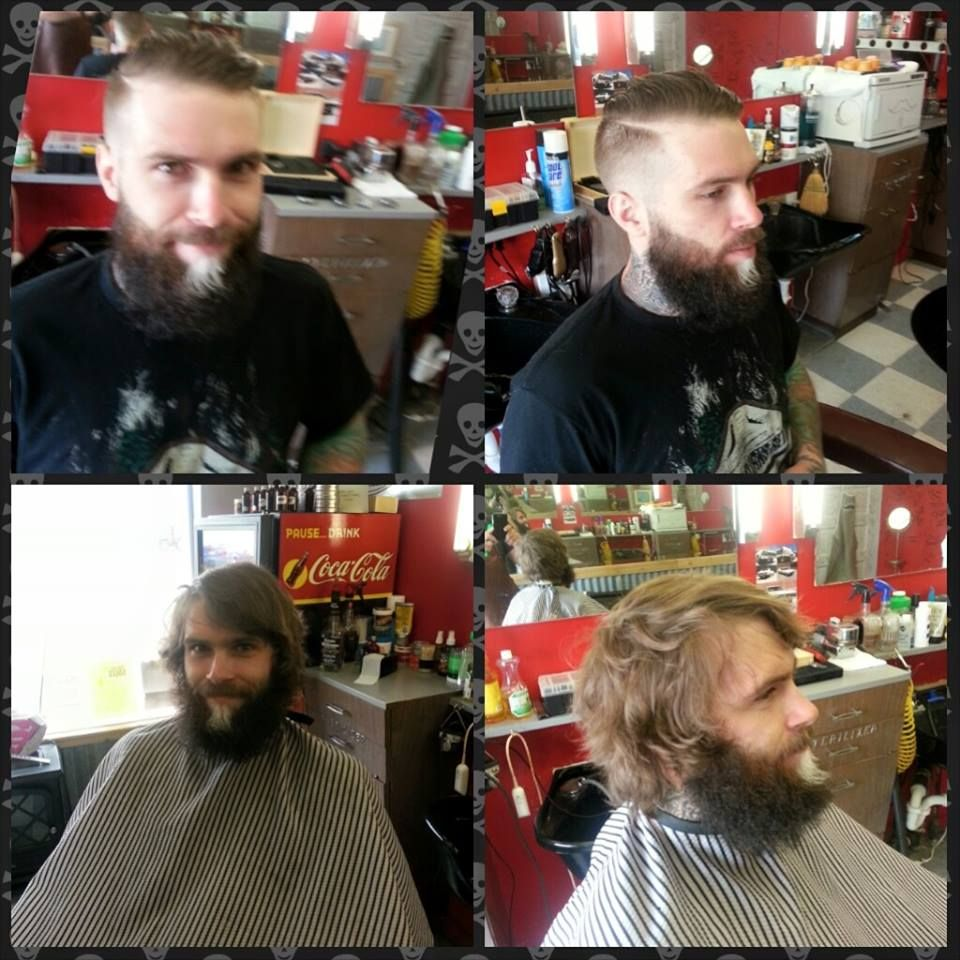 Nicely cleaned up--replaced a heavy shaggy feel with Mr. Dapper